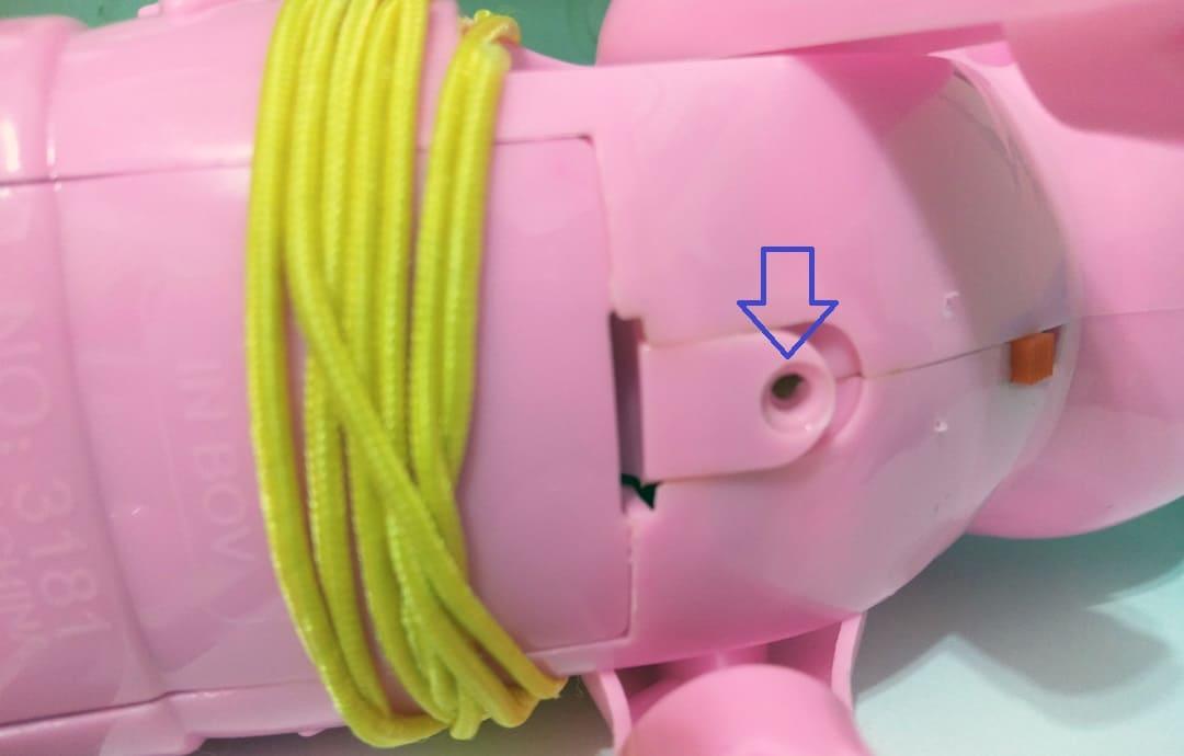 玩具的電池封蓋