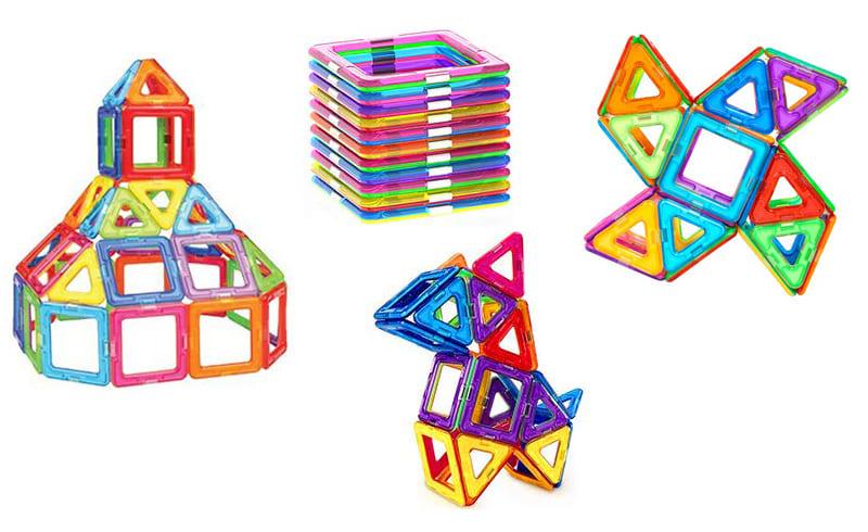 磁性建構片玩具組建各種造型