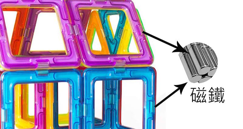 如何搭建磁性建構片