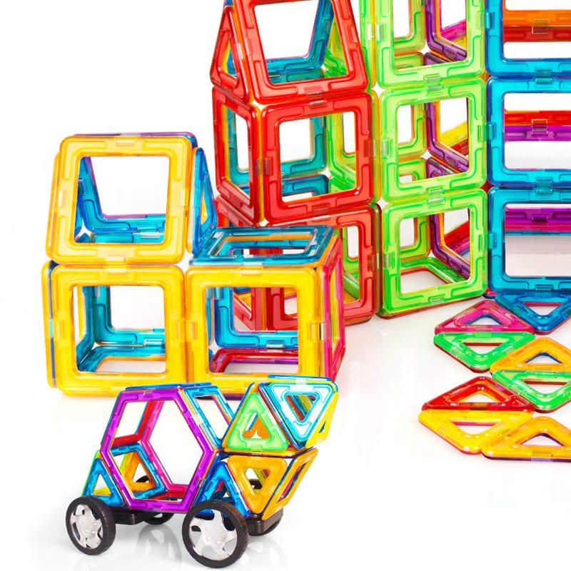 磁性建構片玩具