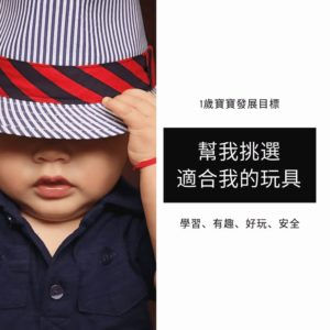 Read more about the article 1歲寶寶的學習發展目標 (玩具篇)