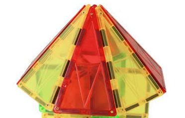 磁性積木三角形屋頂