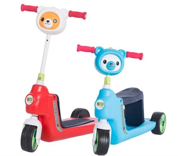 寶寶兩用滑步車