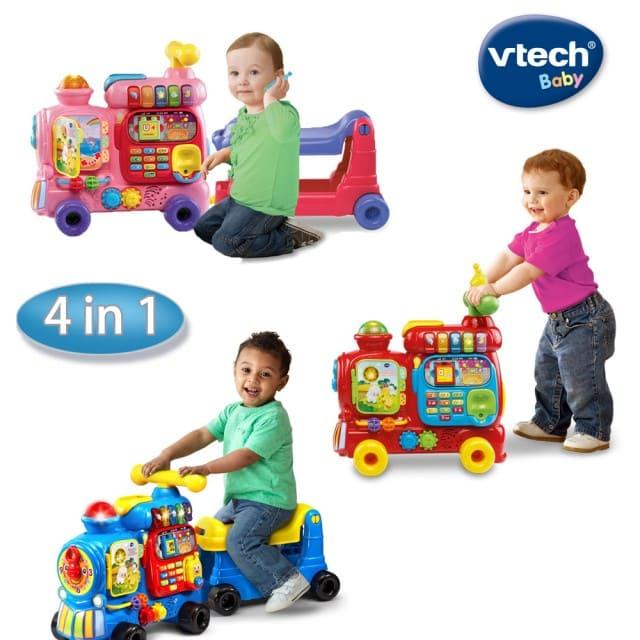 Vtech- 4合1智慧積木學習車