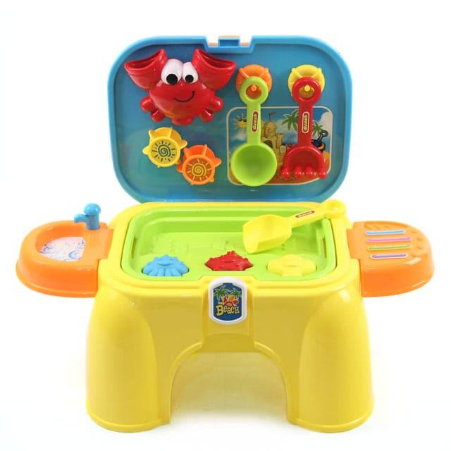 沙灘玩具收納椅-玩沙工具