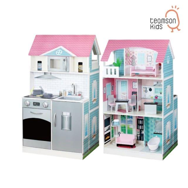 艾芮兒-木製娃娃屋