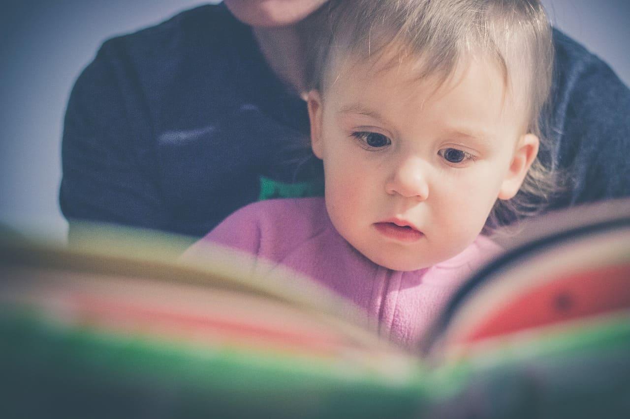 2歲寶寶閱讀繪本