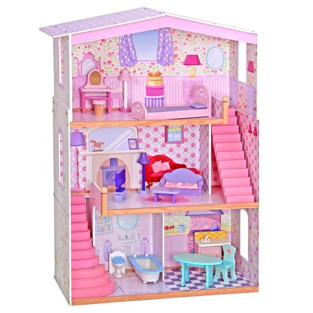 大型木製娃娃屋
