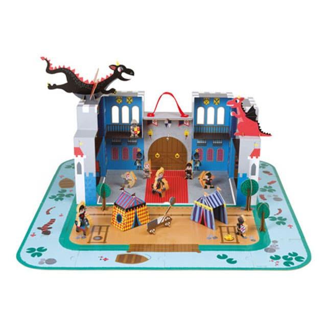 場景類型玩具-龍的城堡