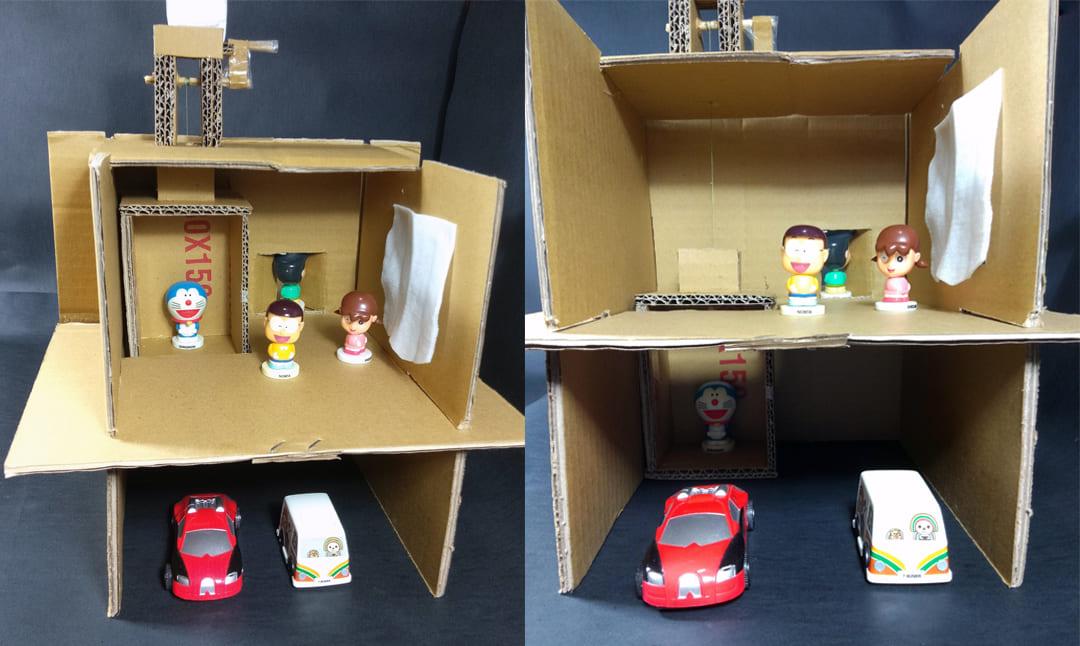 自製娃娃屋