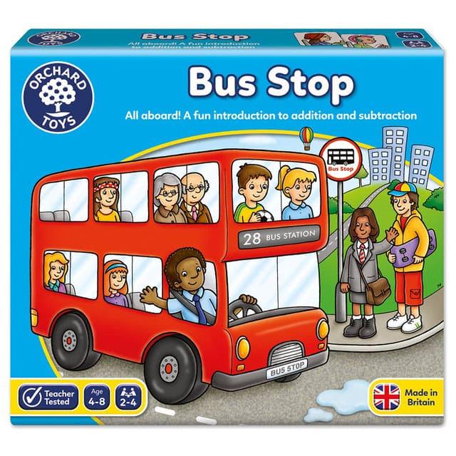 兒童桌遊-歡樂巴士
