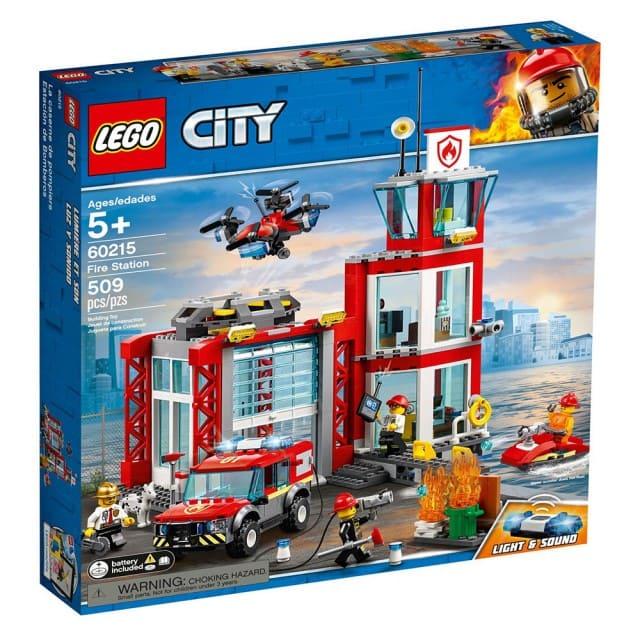 樂高城市消防玩具組