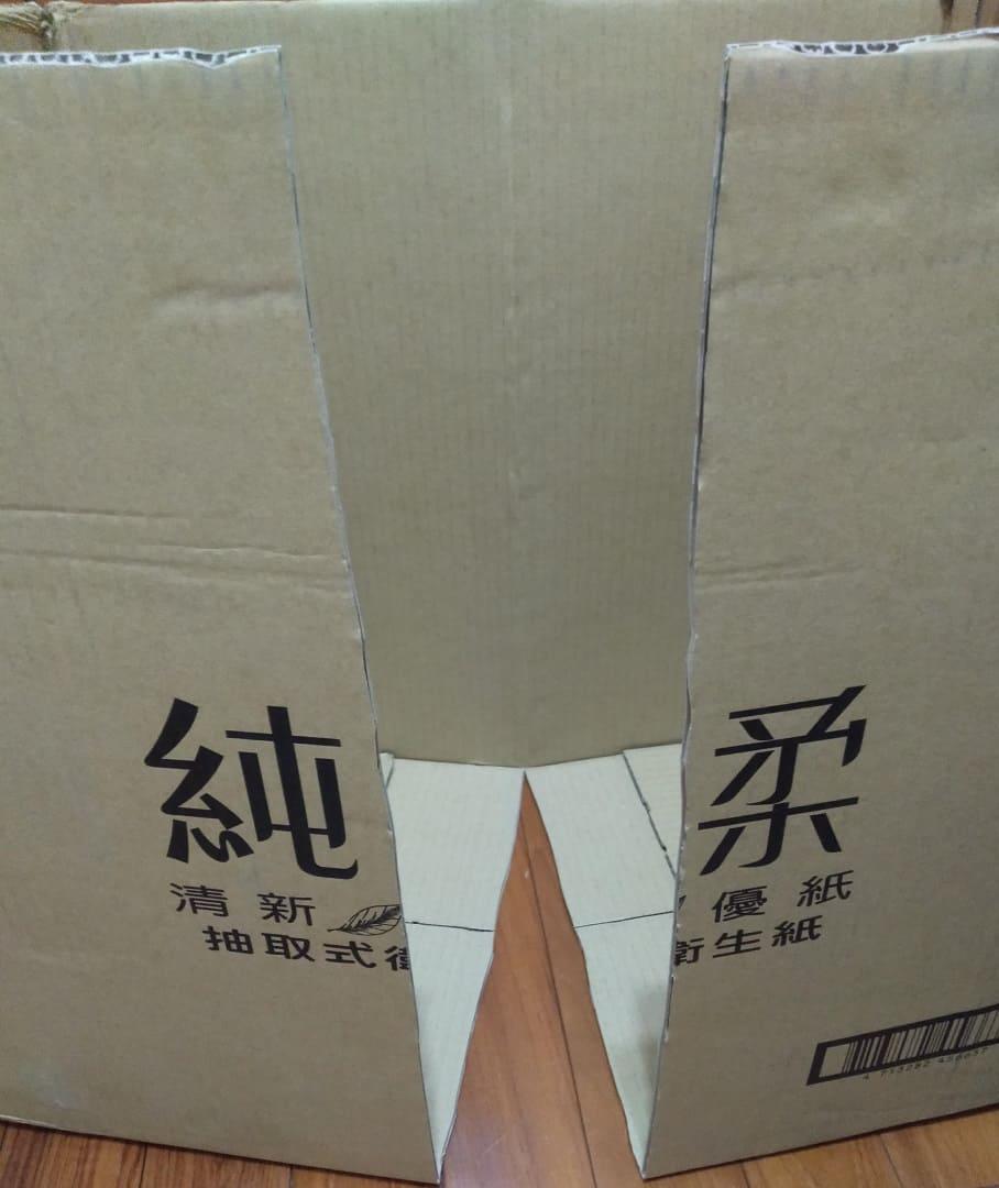 衛生紙箱娃娃屋