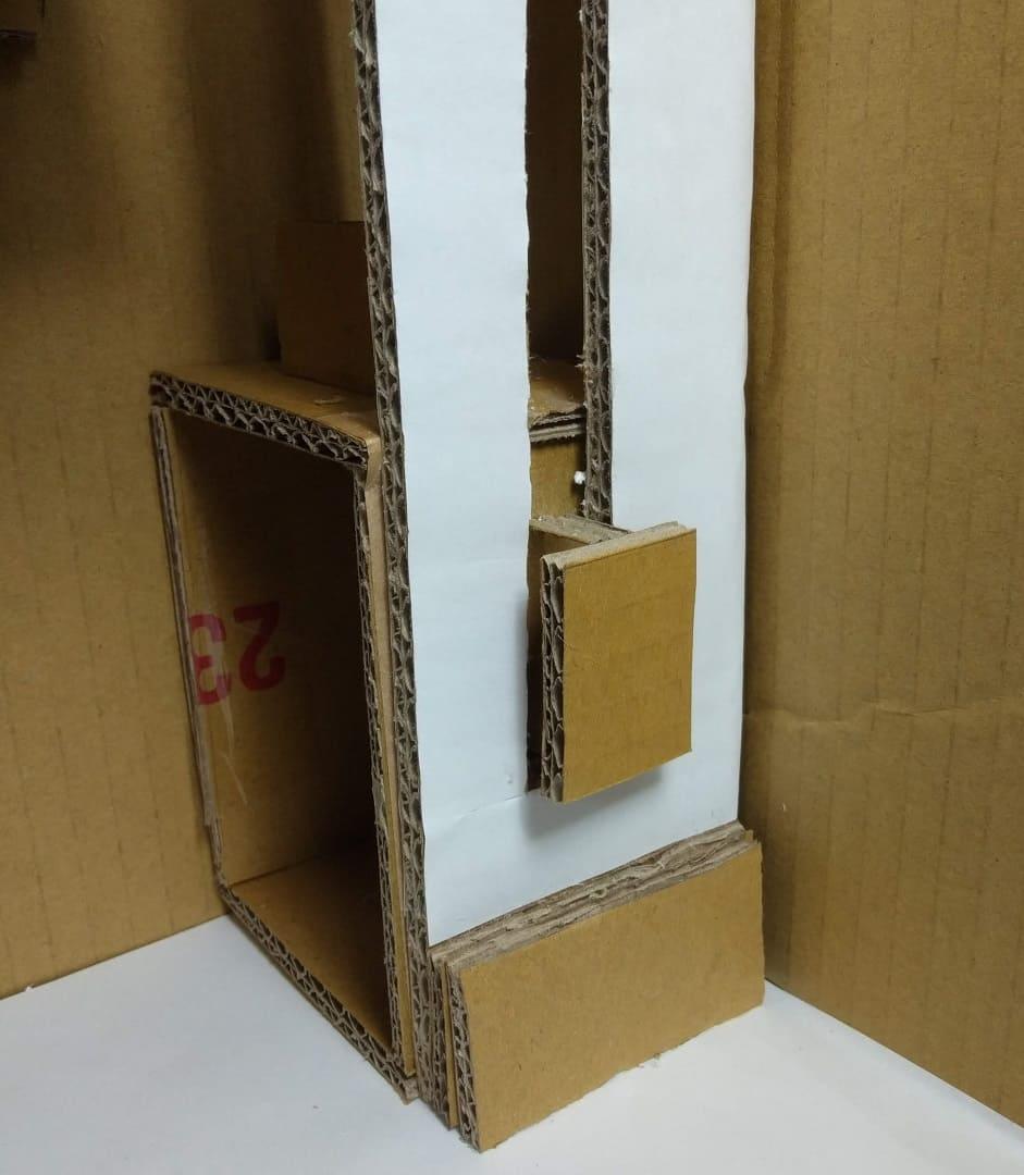 紙板電梯設計