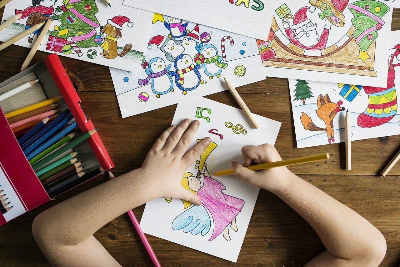 兒童繪畫工具