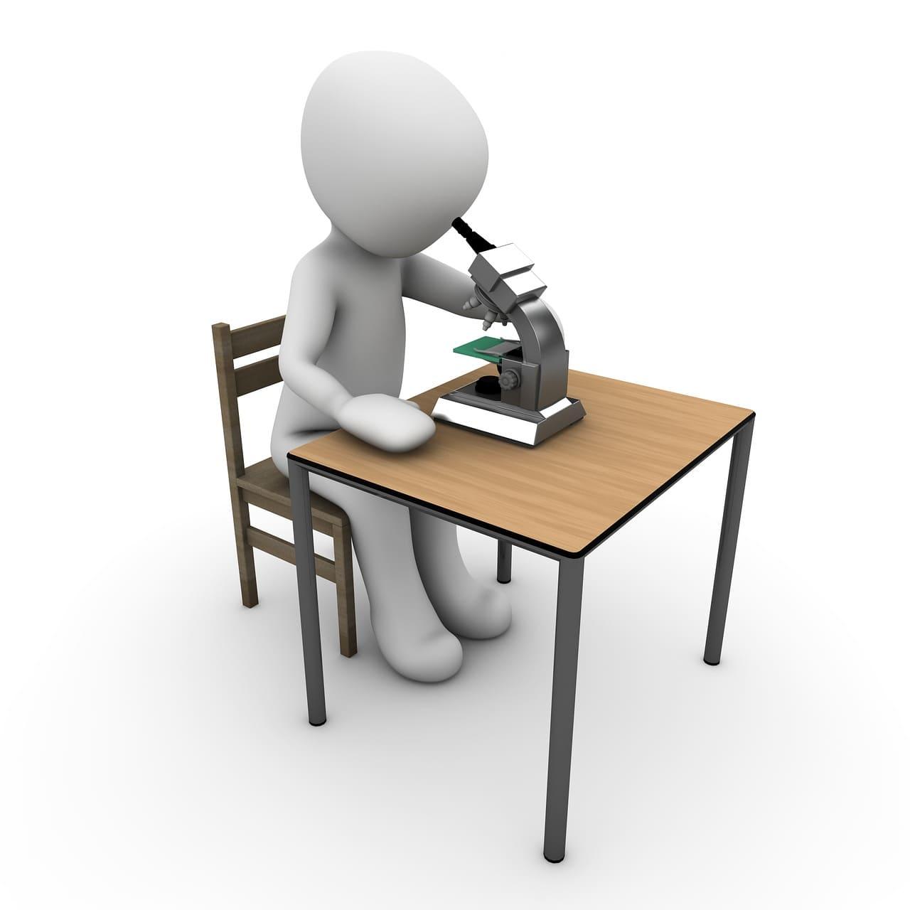 兒童學習顯微鏡