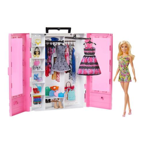 芭比娃娃豪華衣櫃組