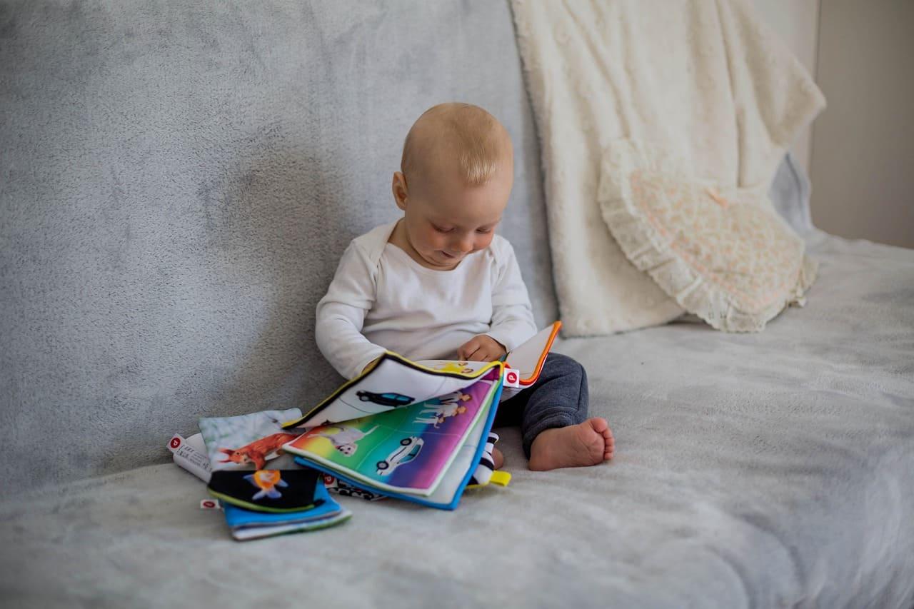 幼兒閱讀棉布書