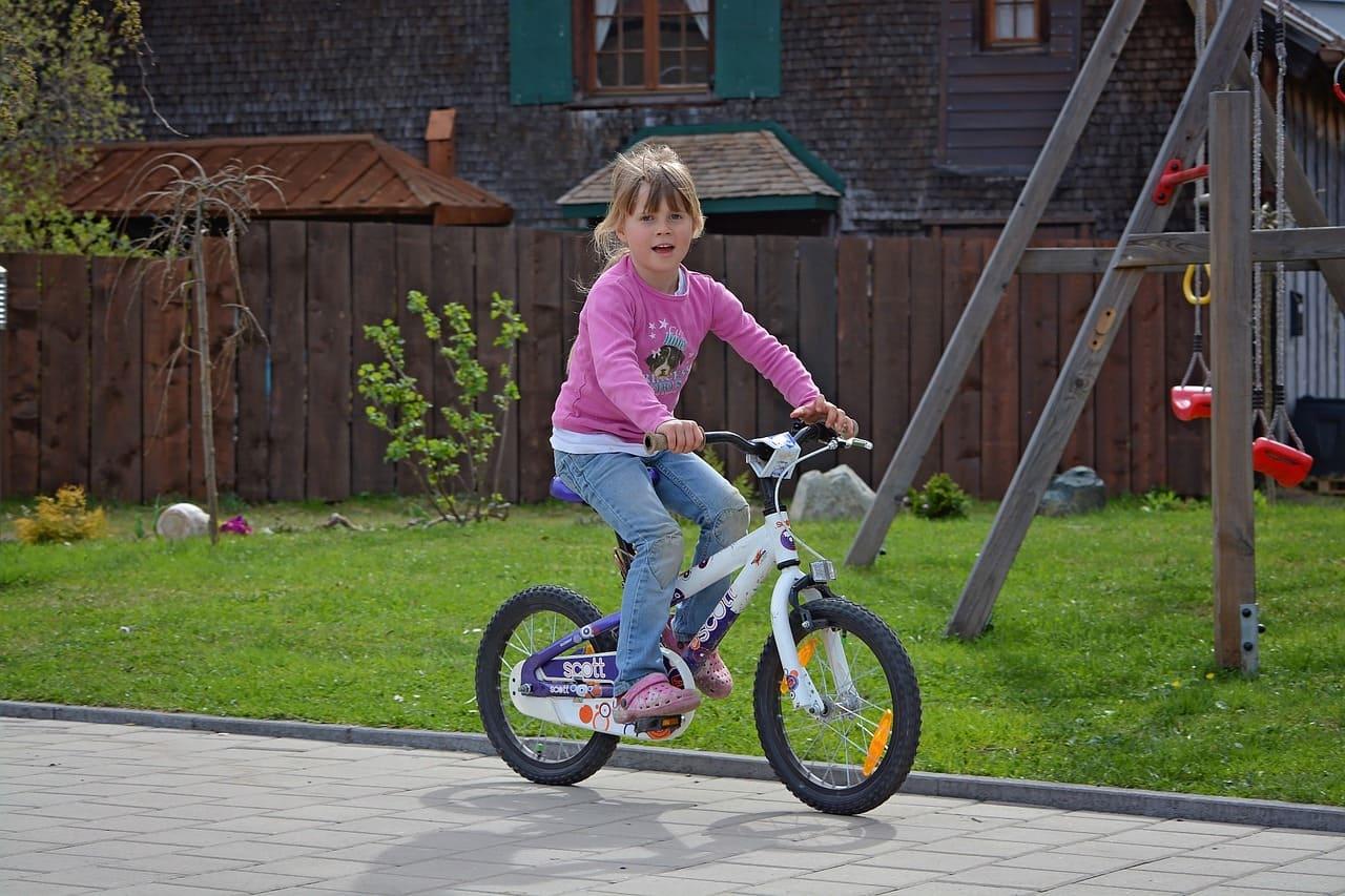 5歲女童禮物-16吋腳踏車