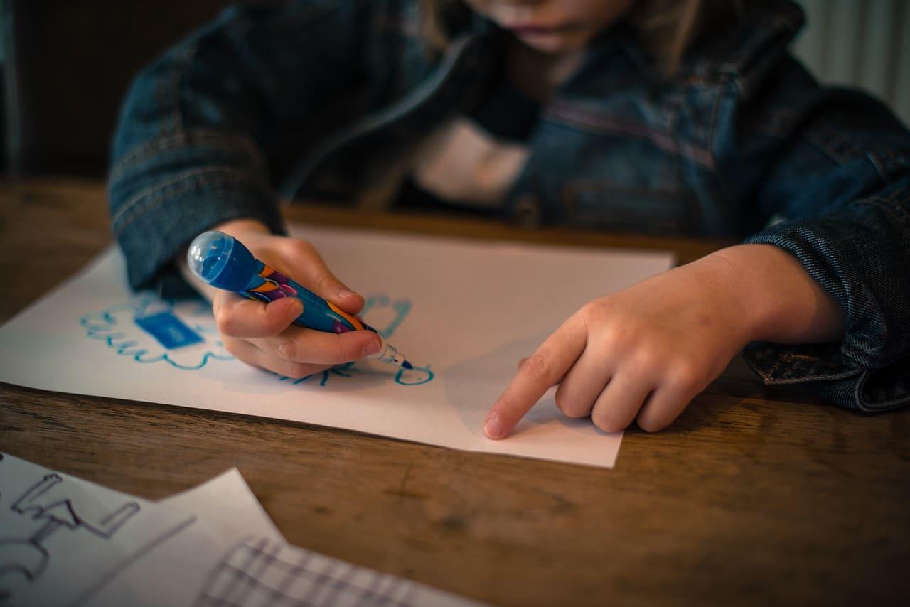 兒童繪畫技能