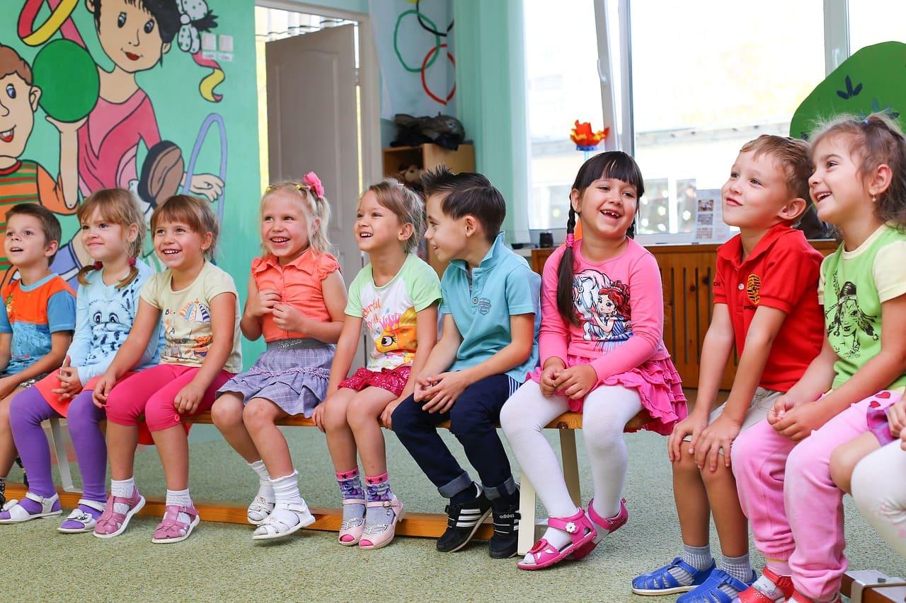 學齡前兒童的幼稚園生活