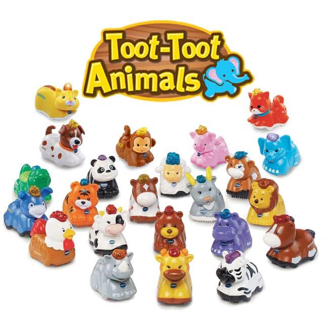 嘟嘟動物系列-動物單品玩具