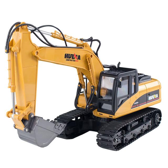2.4G 遙控合金遙控挖掘機