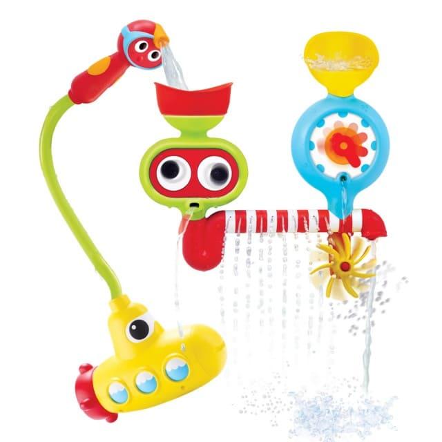 洗澡玩具-大眼瀑布蓮蓬頭套組