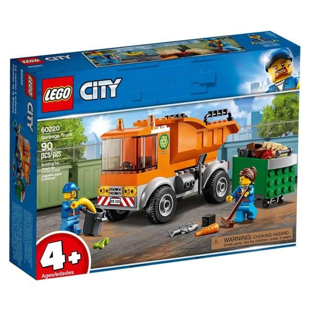 樂高城市系列-垃圾車積木主題-60220