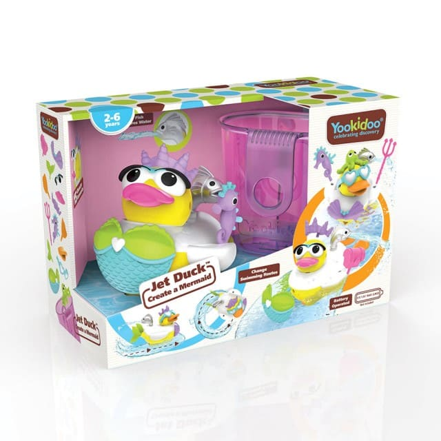 小美人鴨洗澡玩具