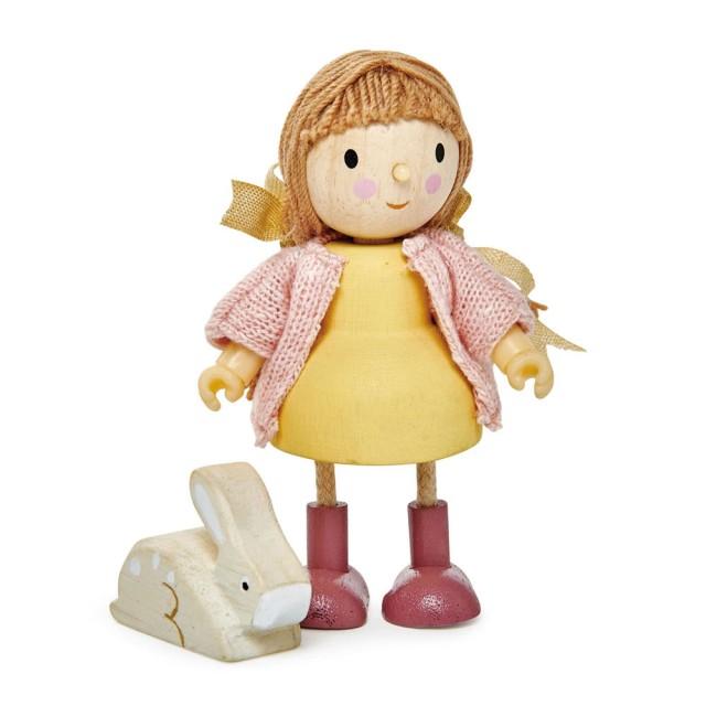 Tender Leaf Toys 愛咪與小兔-娃娃屋人偶