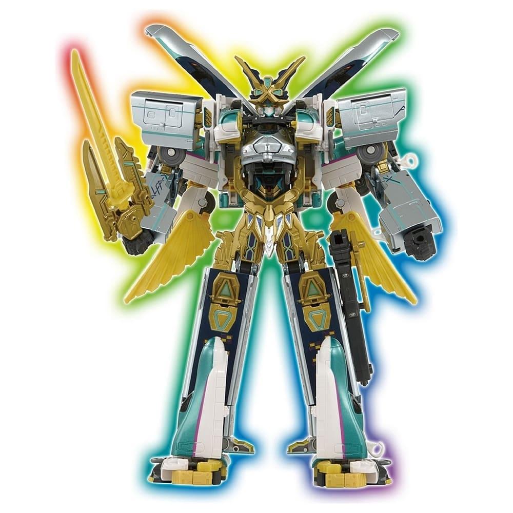 新幹線變形機器人-阿爾法DXS104