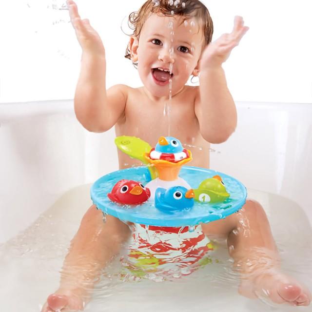 魔法小鴨噴泉戲水玩具