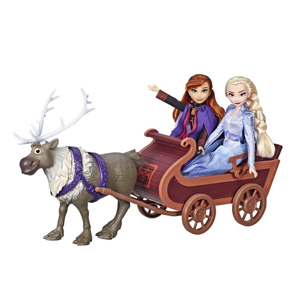 冰雪奇緣2 公主與小斯雪橇玩具