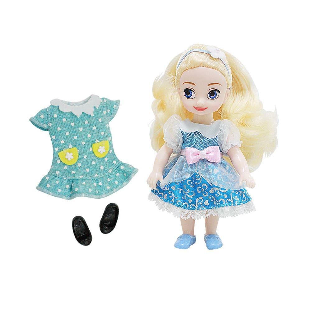 迪士尼公主系列 4吋迷你洋娃娃