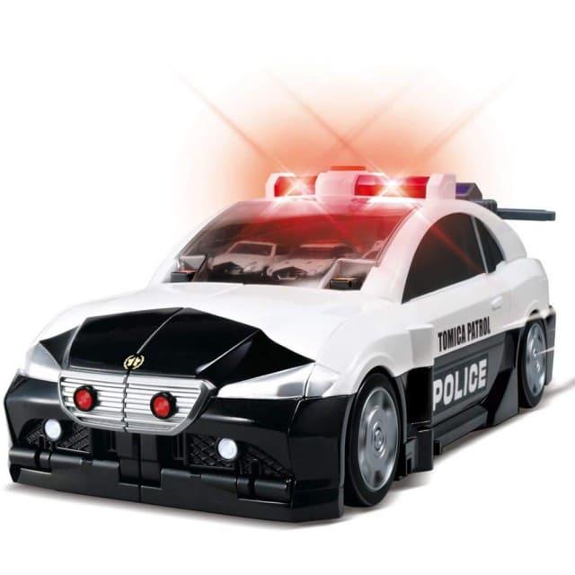 tomica 變形警察基地
