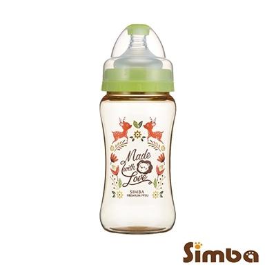 PPSU寬口雙凹中奶瓶270ml