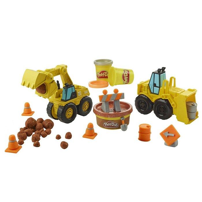 培樂多黏土車輪系列-怪手組