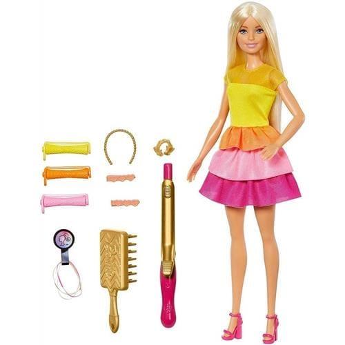 芭比娃娃 - 頭髮造型玩具組