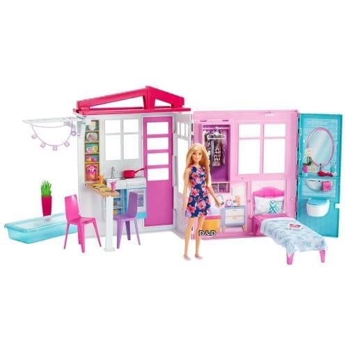 芭比娃娃 - 開闔式娃娃屋