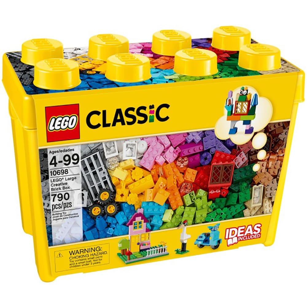 LEGO 樂高-經典大型創意拼砌盒桶 10698