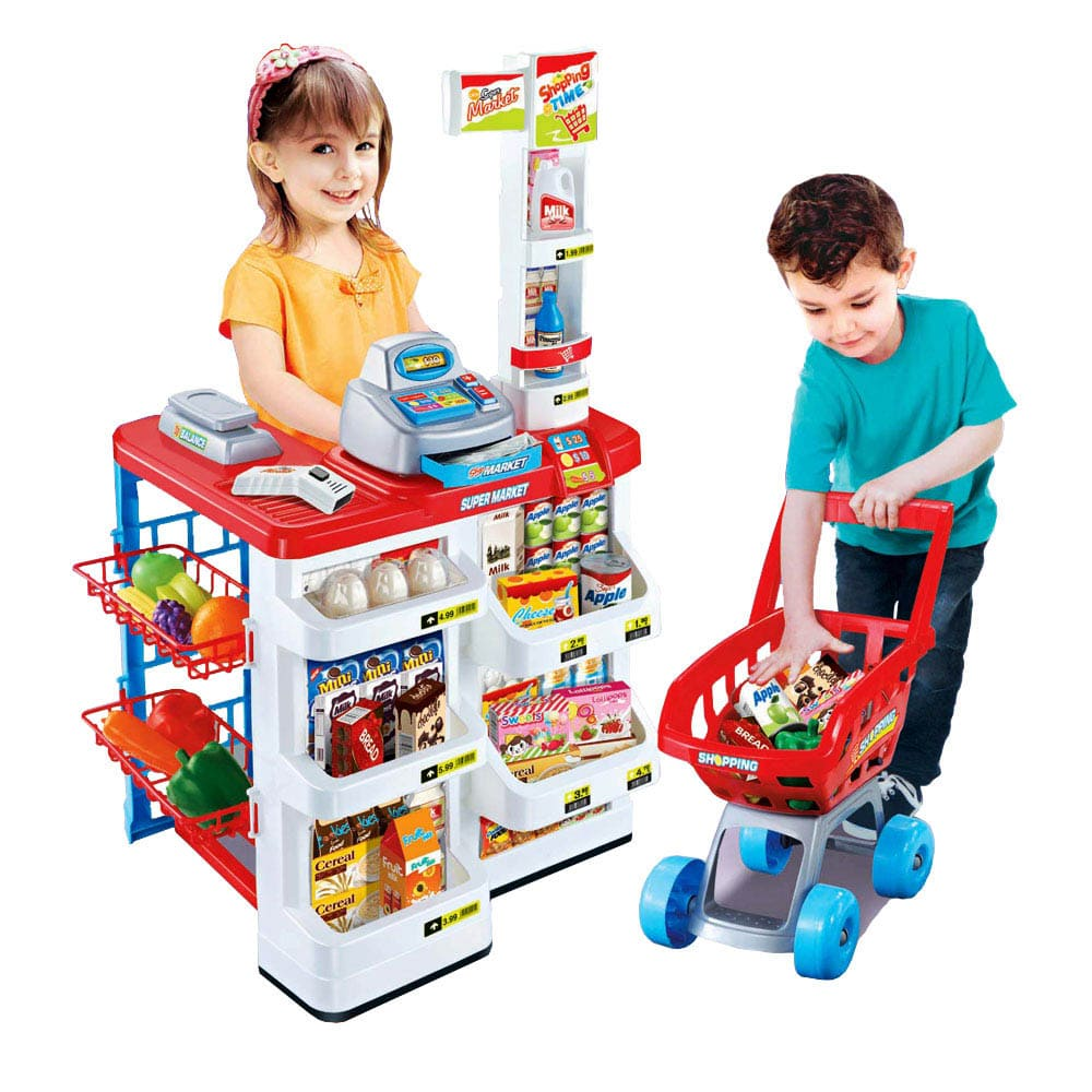 扮家家酒玩具 - 模擬超市收銀玩具