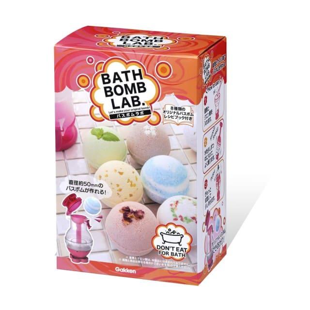DIY泡泡浴球製造機 (氣泡浴球實驗室)