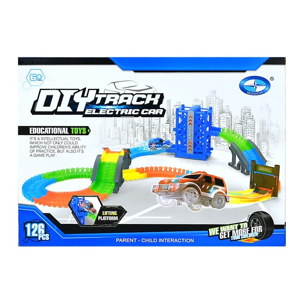 DIY TRACK-電動夜光軌道車