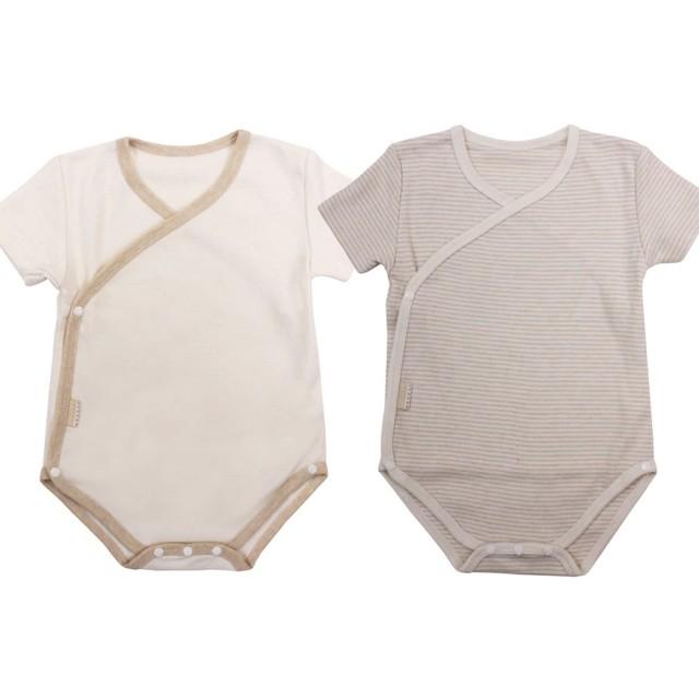 新生兒短袖包屁衣