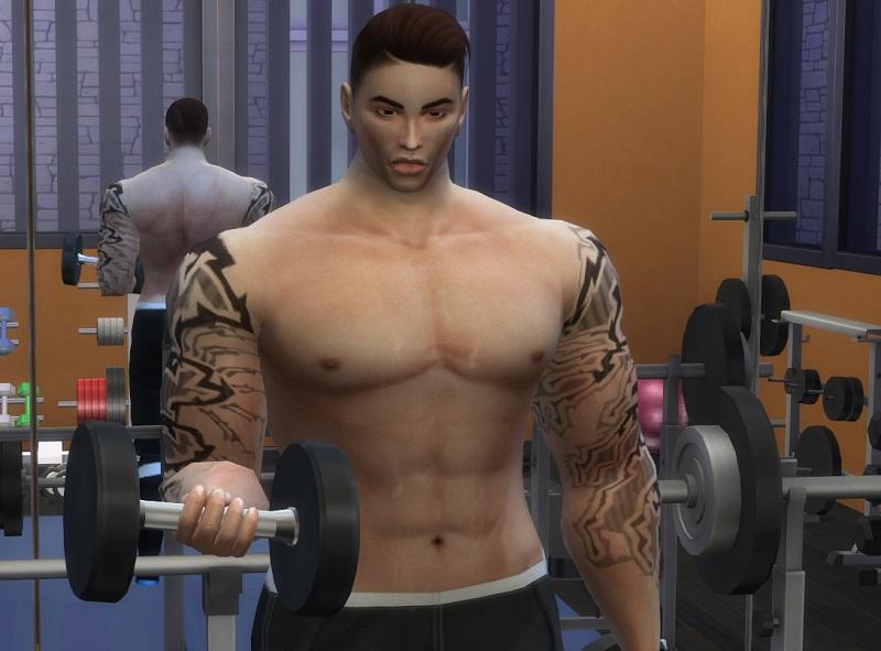 模擬市民4 -健身肌肉調整