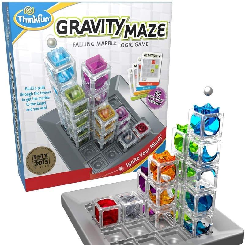 3D重力迷宮塔 (棋盤益智類)