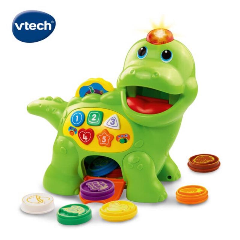 小恐龍餵食玩具-2歲女孩玩具