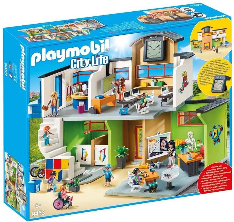Playmobil 摩比學校大樓9453