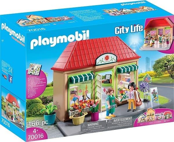 摩比城市生活系列-花店(70016)